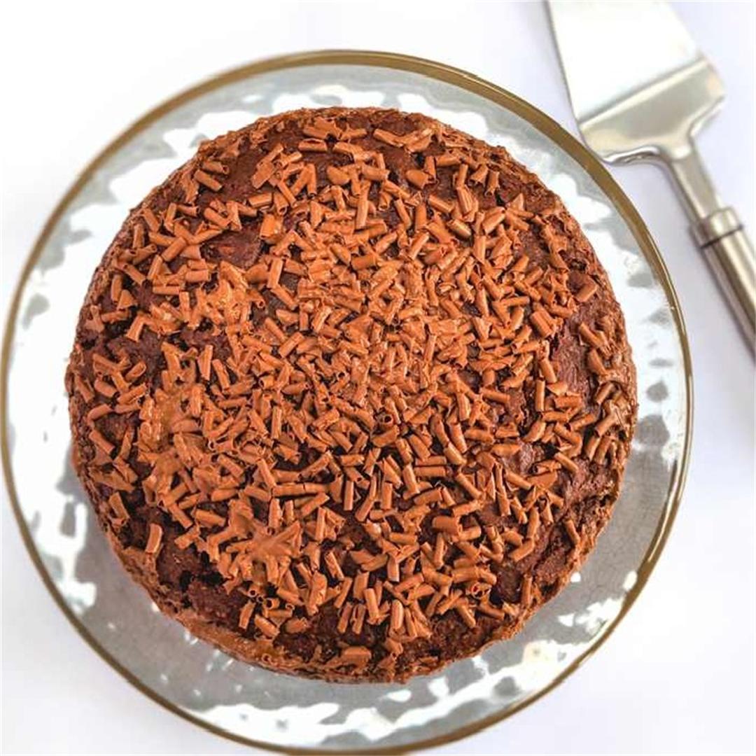 Chocolate yoghurt cake
