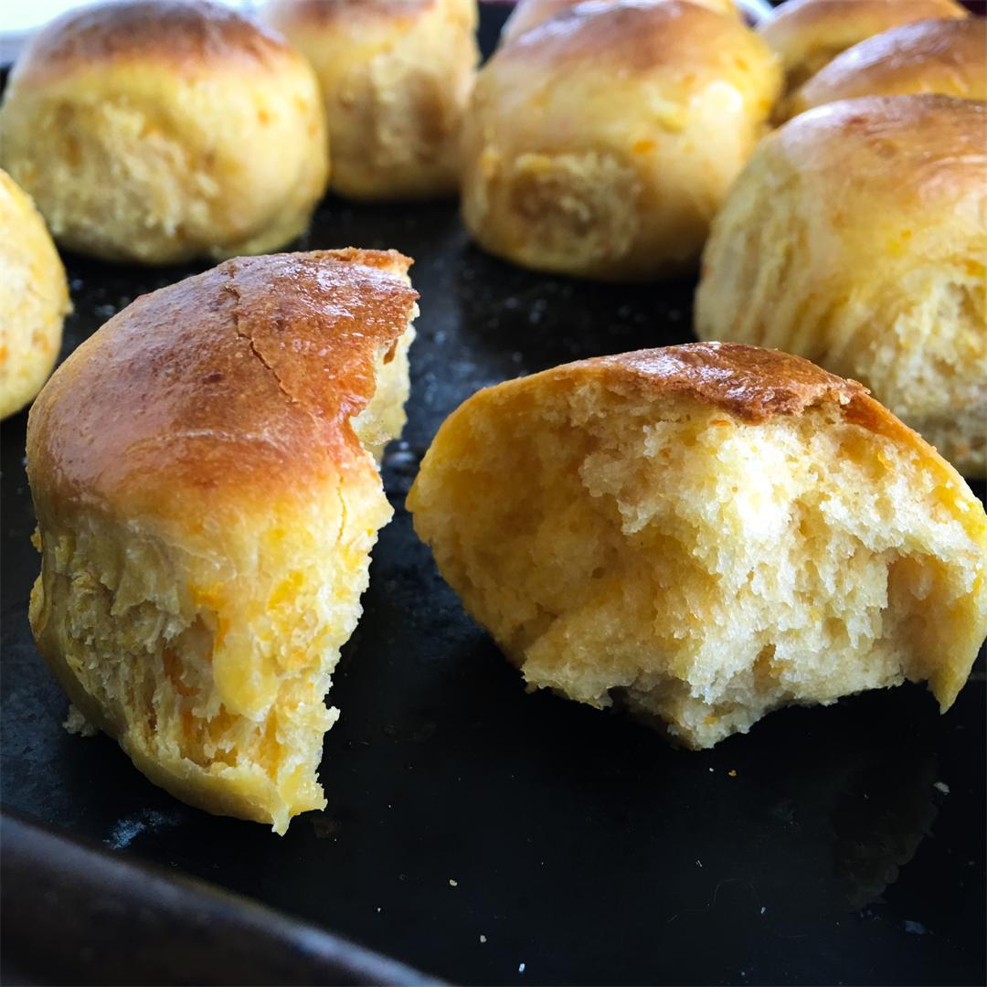 The Best Sweet Potato Rolls
