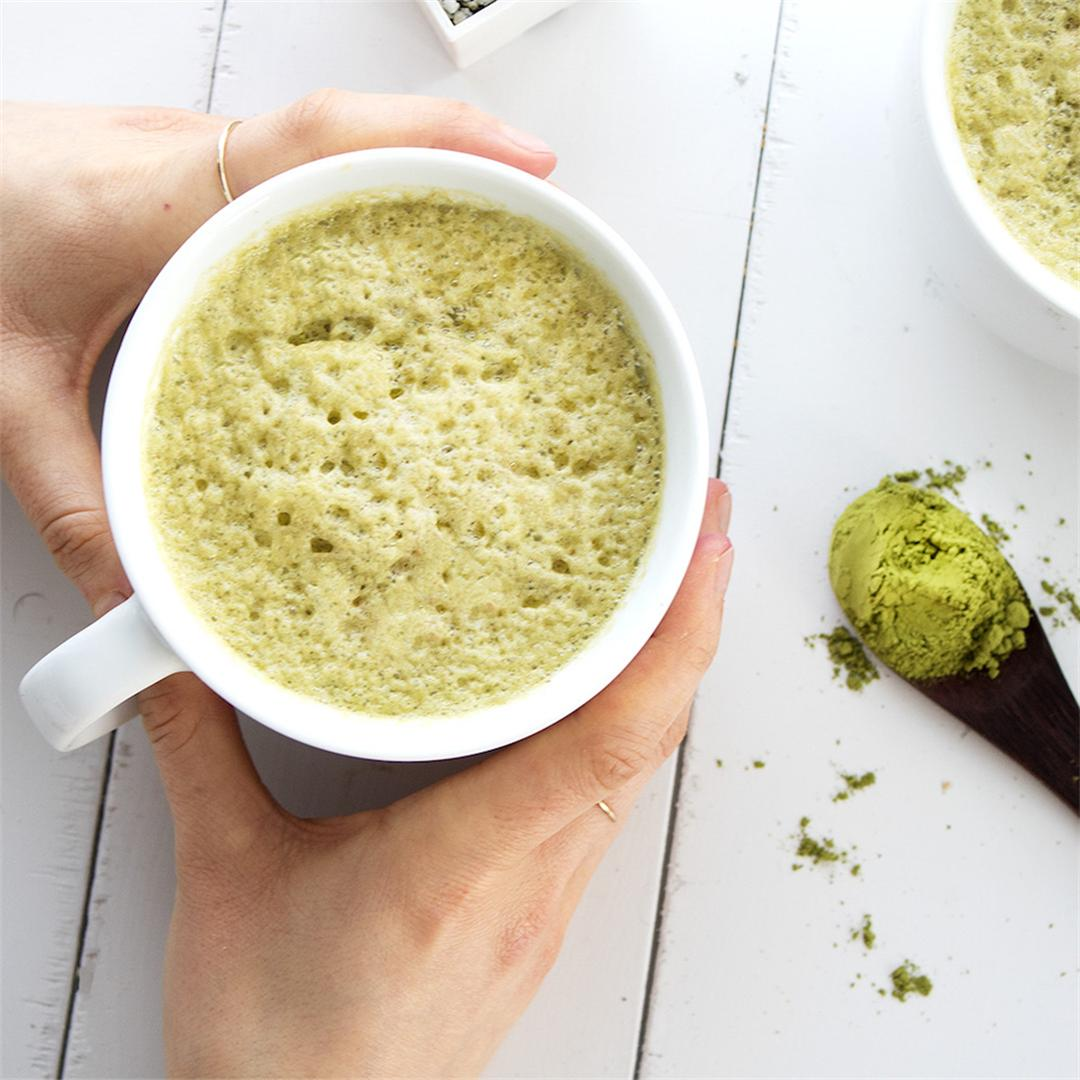 Naturally Sweetened Matcha Latte
