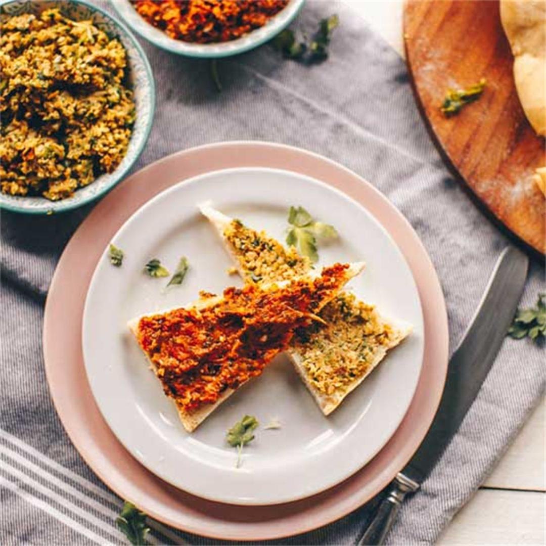 Rustic olive and sun-dried tomato tapenade