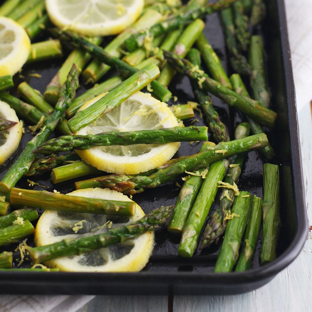 Toaster Oven Asparagus With Lemon