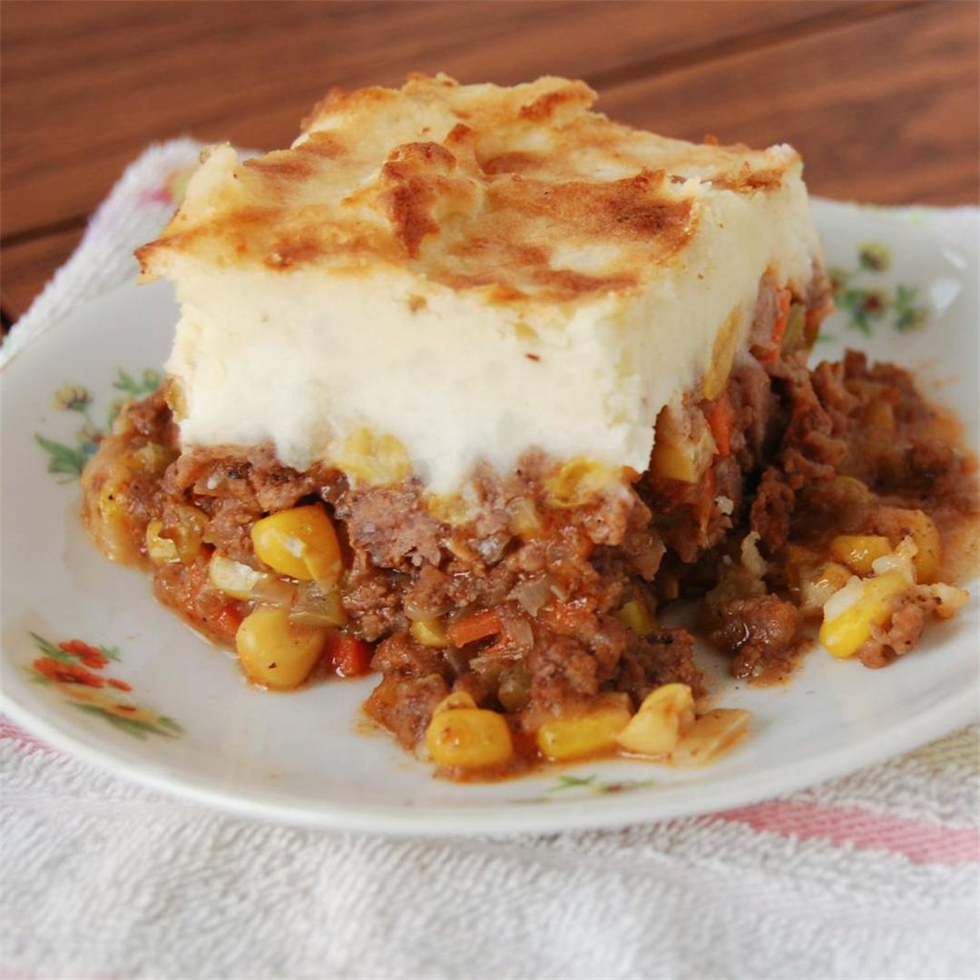 Rich Cottage Pie with Beef