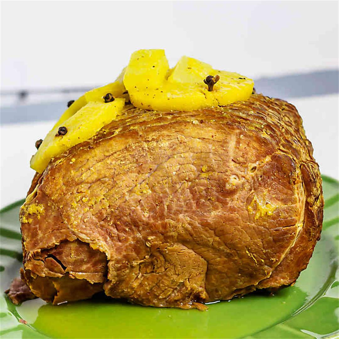 Instant Pot Pineapple Mango Ham
