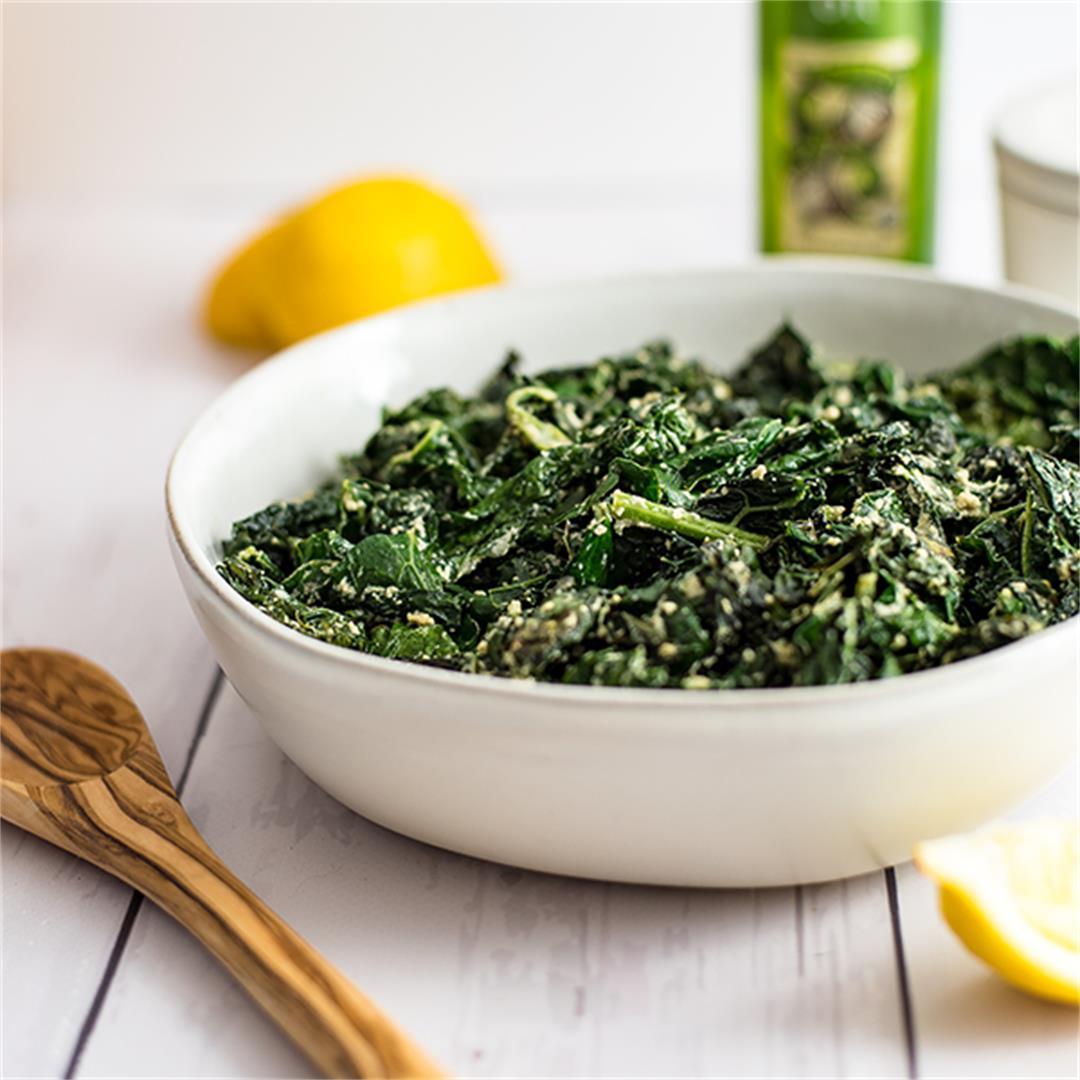 5 Minutes Creamy Kale