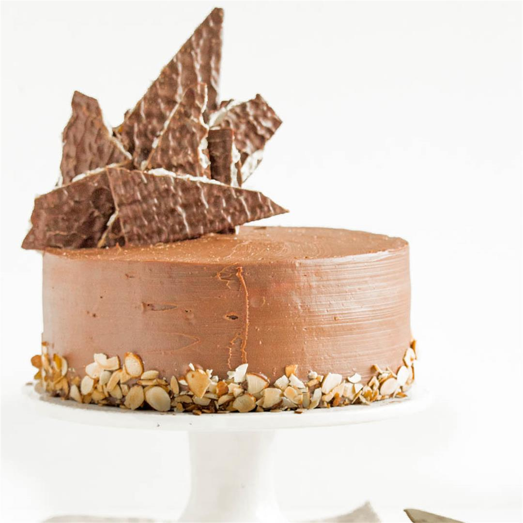 Passover Amaretto cake