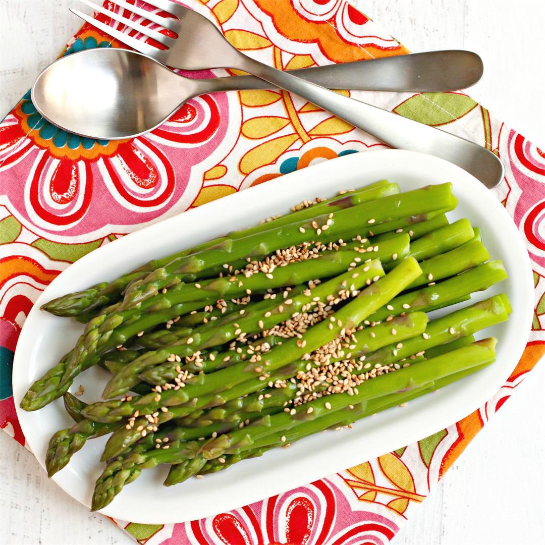 Marinated Asparagus Spears