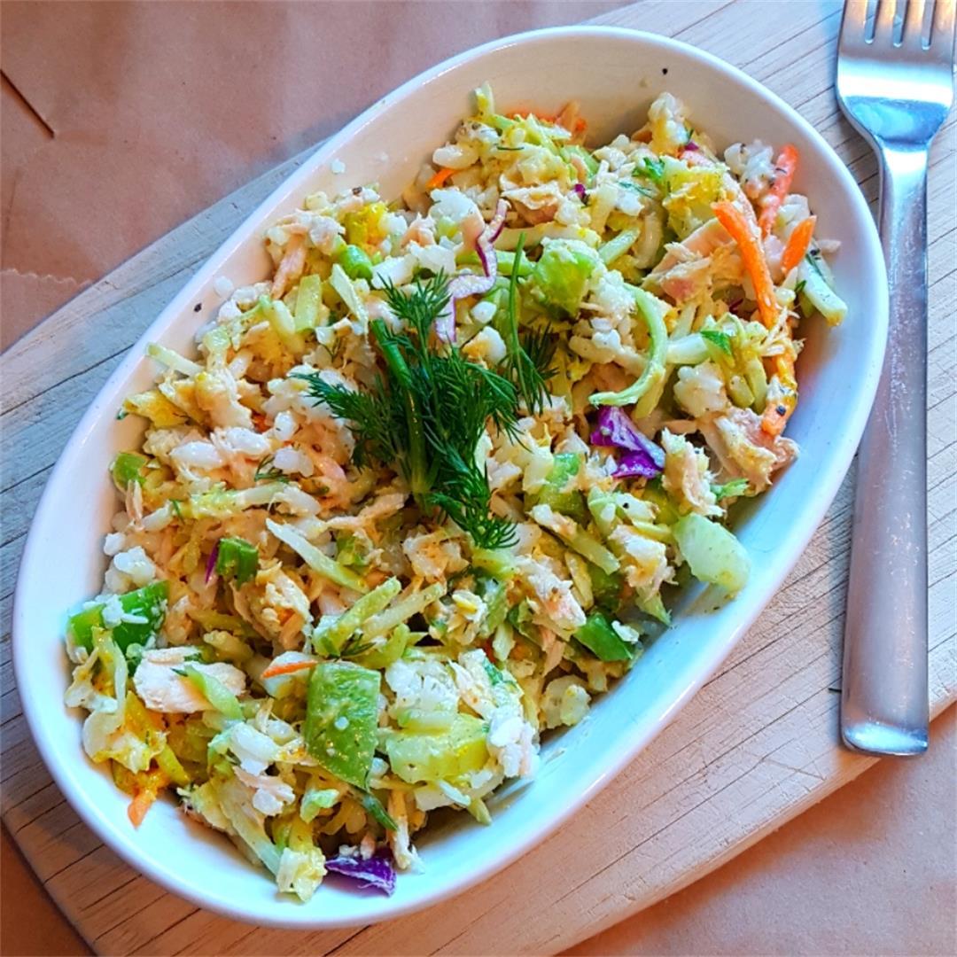 Tuna Slaw & Brown Rice Salad