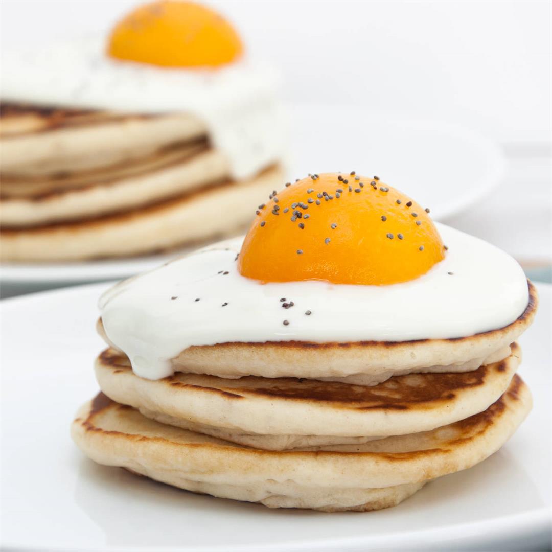 Vegan Easter Pancakes