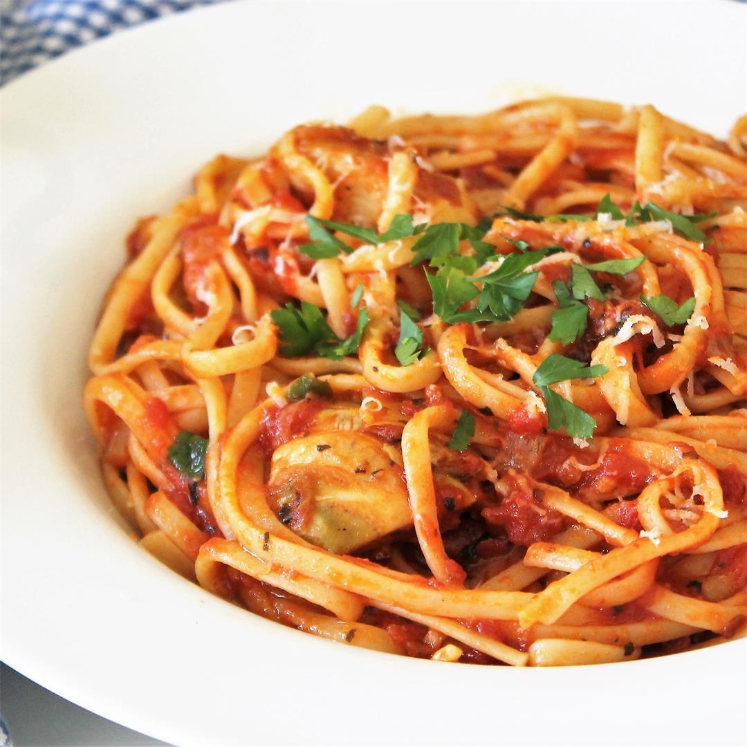 Pasta Sauce Raphael with Artichokes