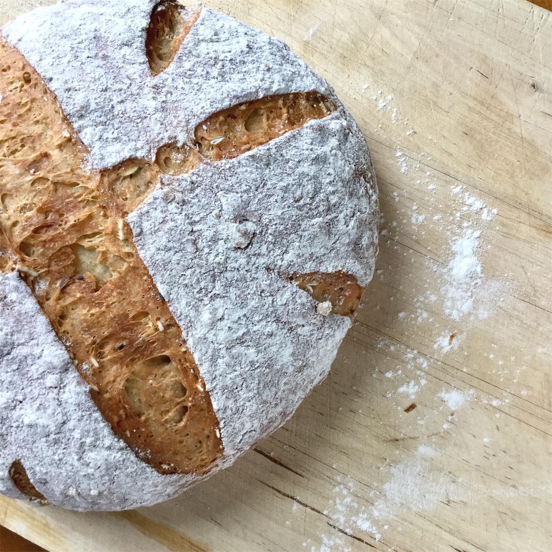 Bob's Red Mill 10-Grain Bread.