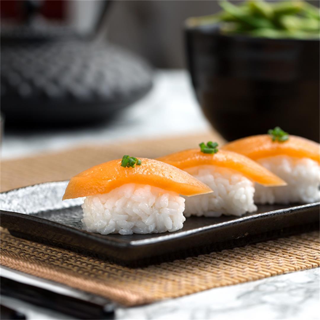 Fish-Free Vegan Salmon Sashimi