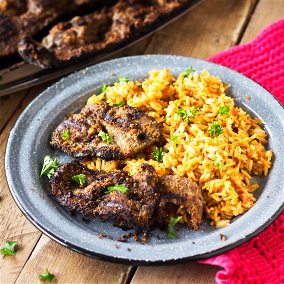 Nigerian Beef Suya Kebabs – West African Street Food