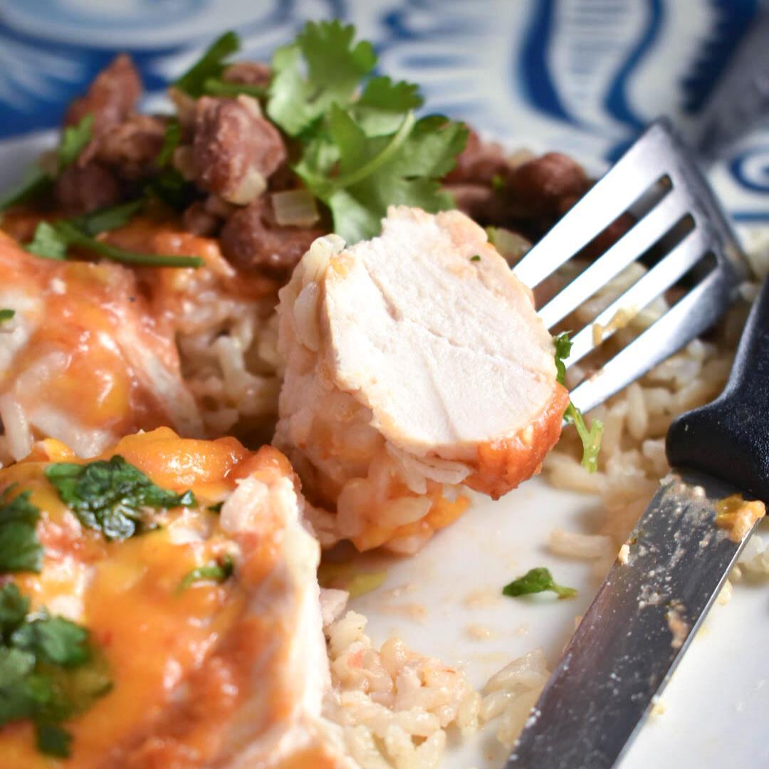 4-Ingredient Picante Chicken