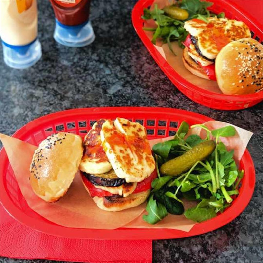 Haloumi burgers