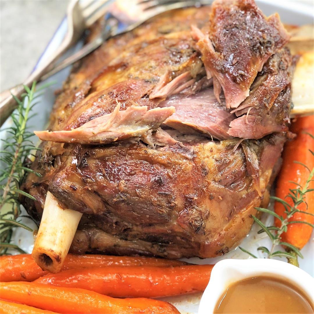 Slow Roasted Lamb Shoulder