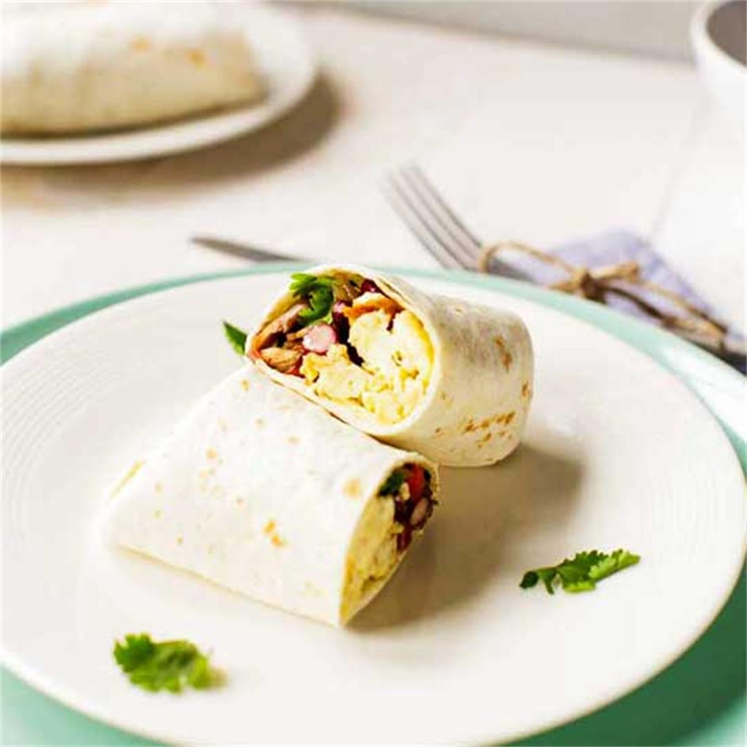 The best breakfast burrito