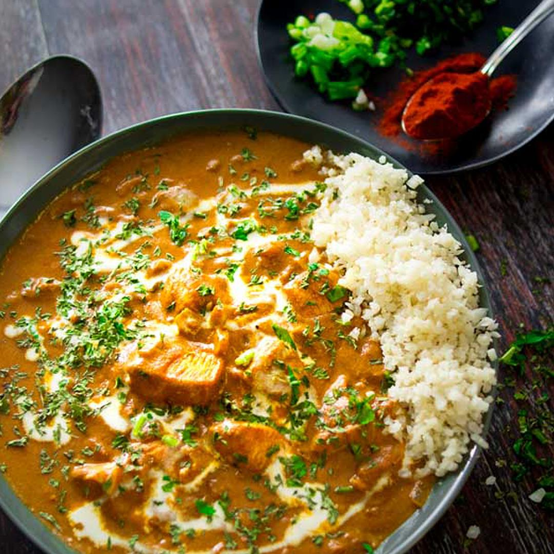 Best Low-Carb Butter Chicken Curry - ready in 30 minutes!
