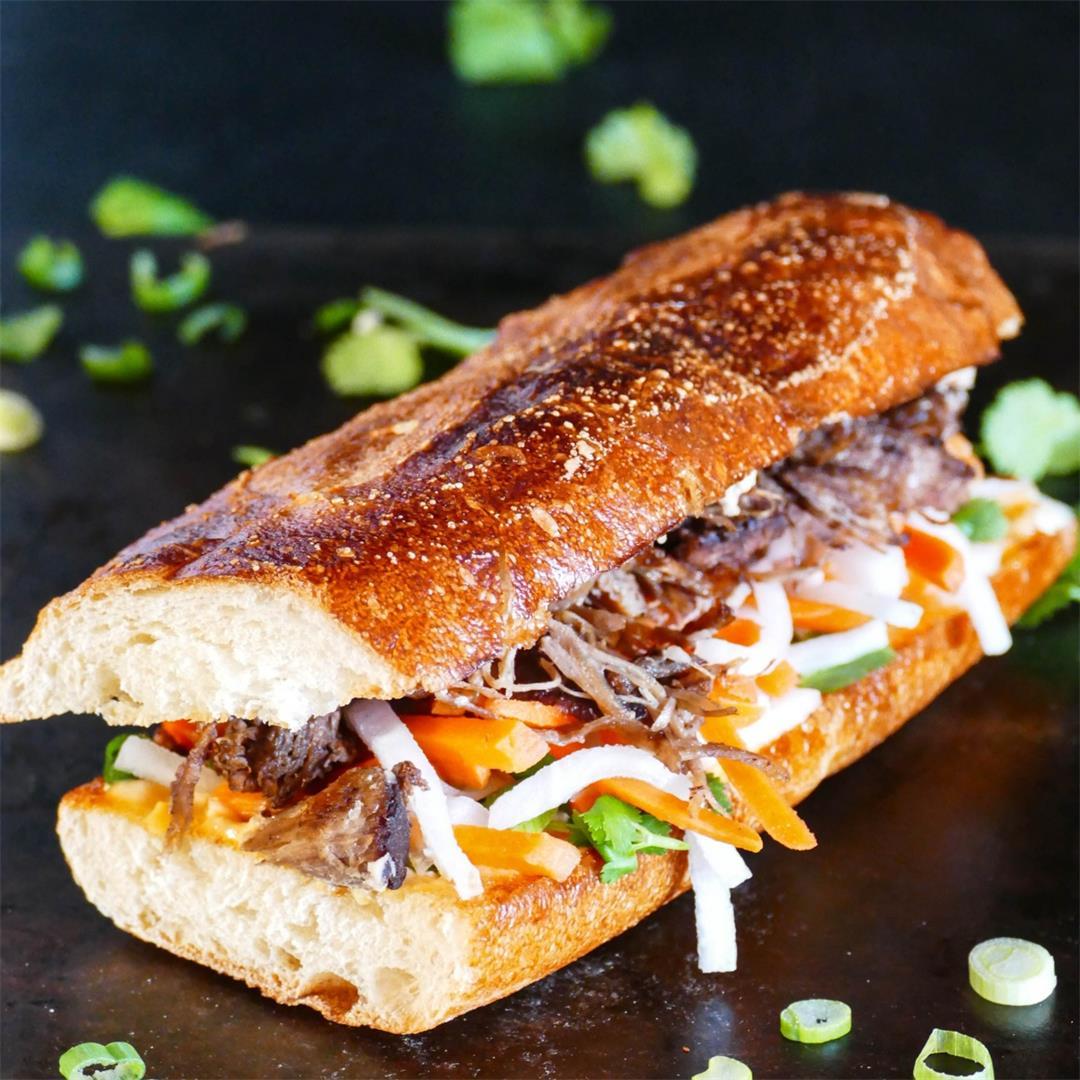 Instant Pot Banh Mi | Vietnamese Sandwich