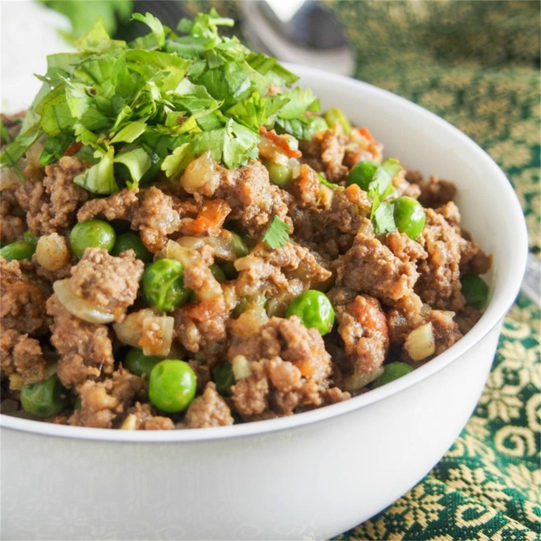 Keema curry (keema matar)