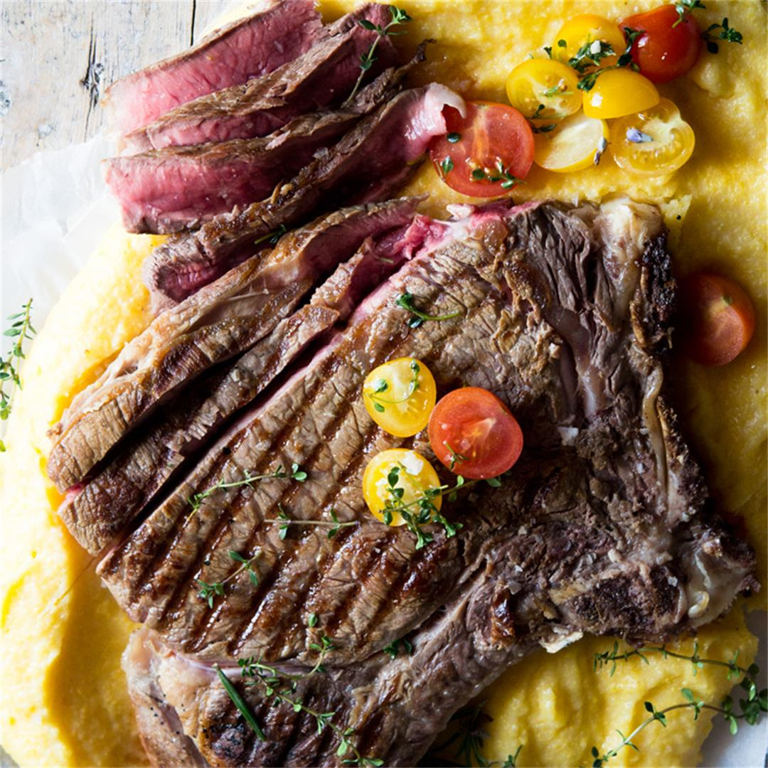 Florentine Steak - Porterhouse Chargrilled