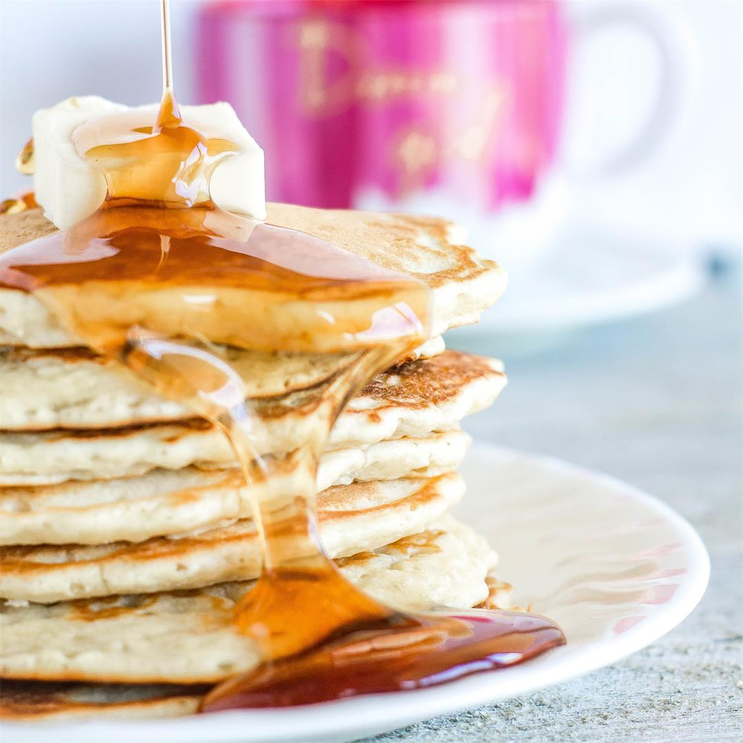 Simple, Easy Pancakes from Scratch