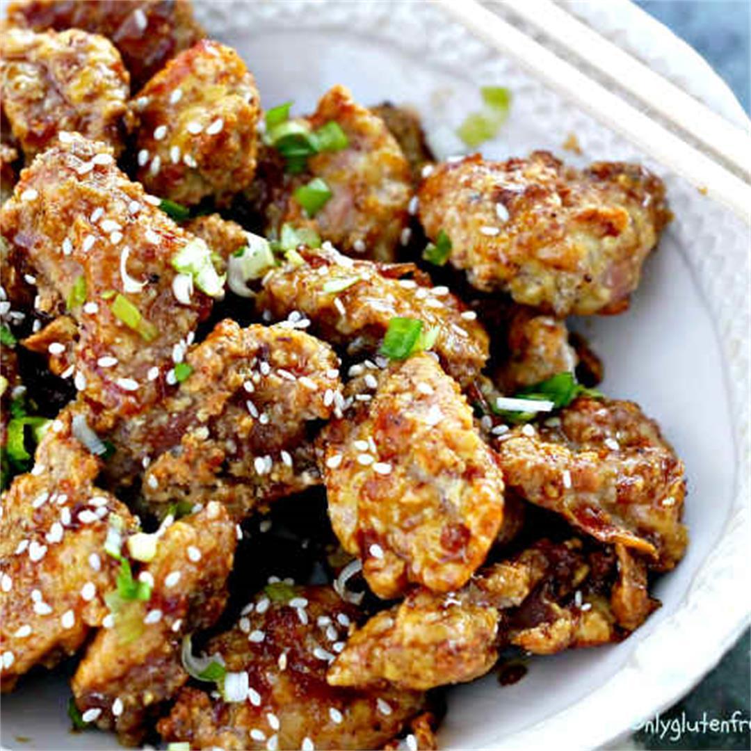 Gluten-Fre Baked Honey Garlic Chicken