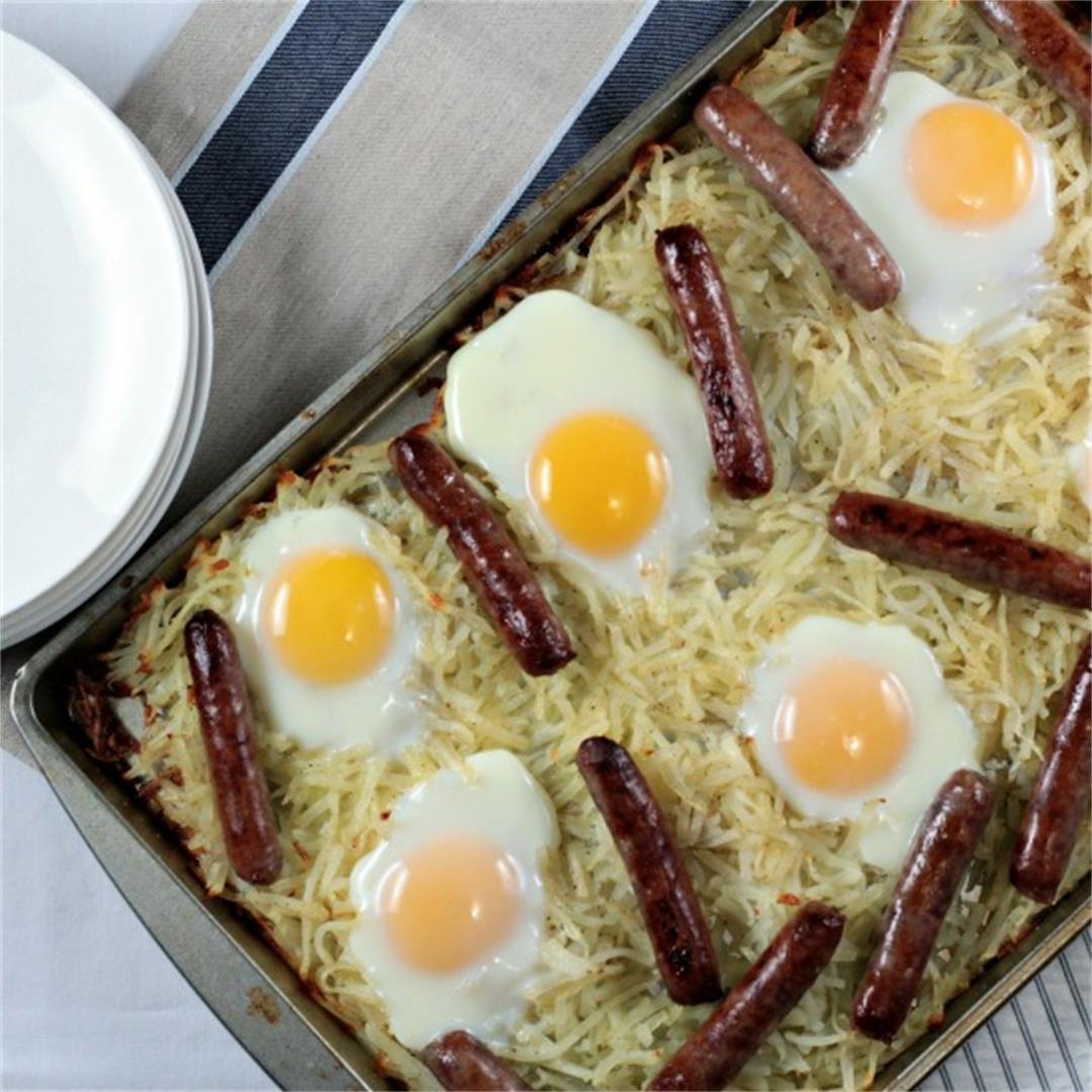 Sausage Sheet Pan Breakfast