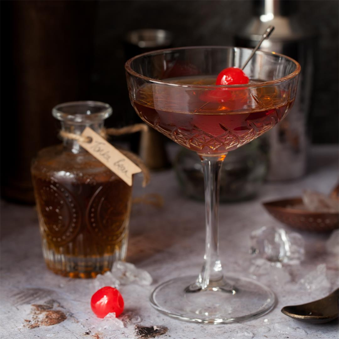 Tonka Bean Manhattan