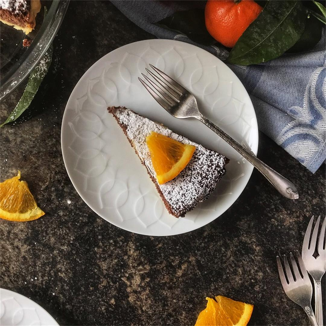 Ricotta Chocolate Tart