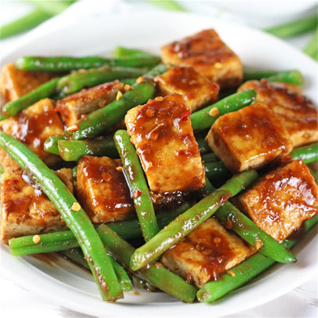Tofu & Green Bean Stir Fry