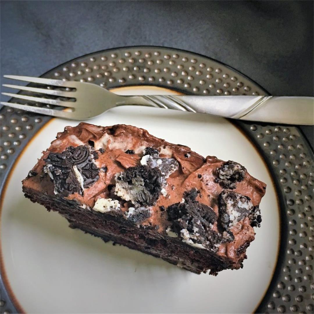 Chocolate Oreo Overload Cake