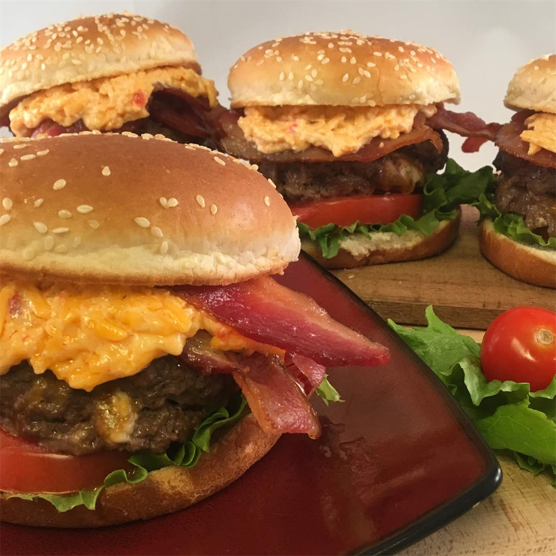 Ultimate Blue Cheese Stuffed Hamburgers