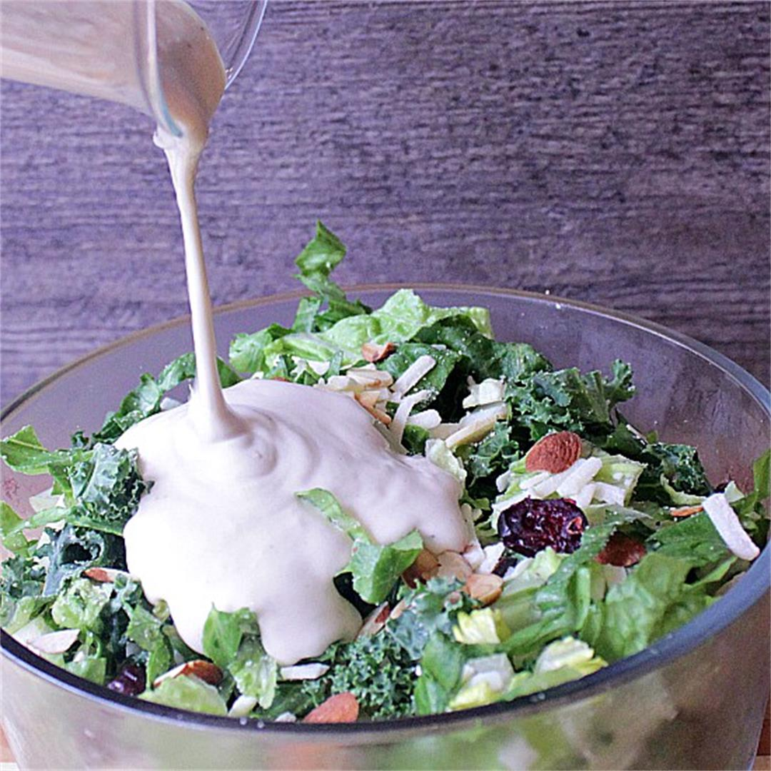 Creamy Caesar Dressing without Anchovy Paste
