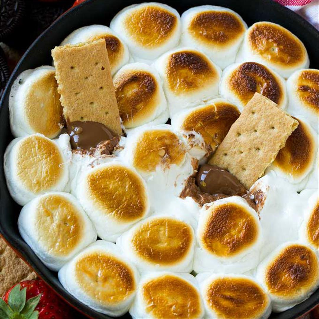 Oven S'mores Dip