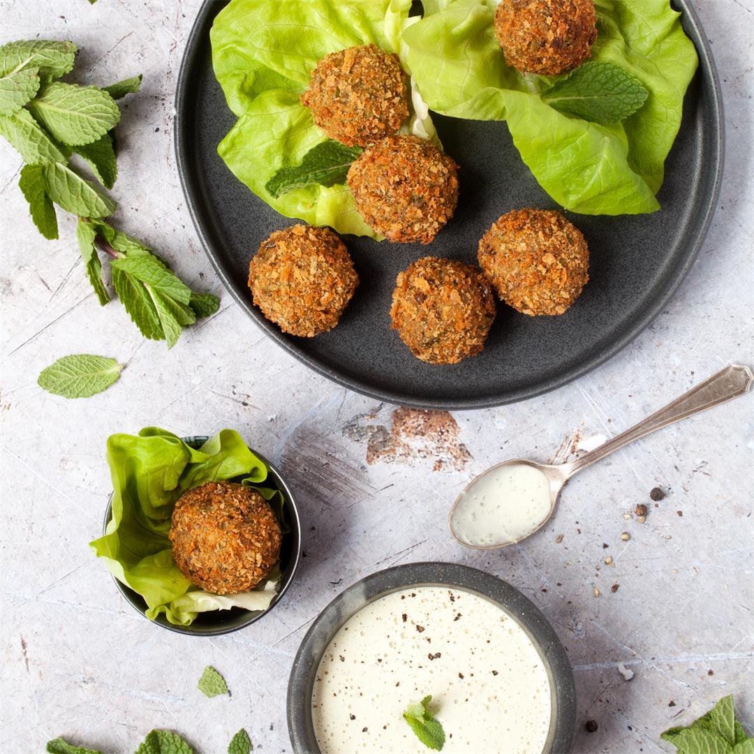 Mint & Pea Falafel