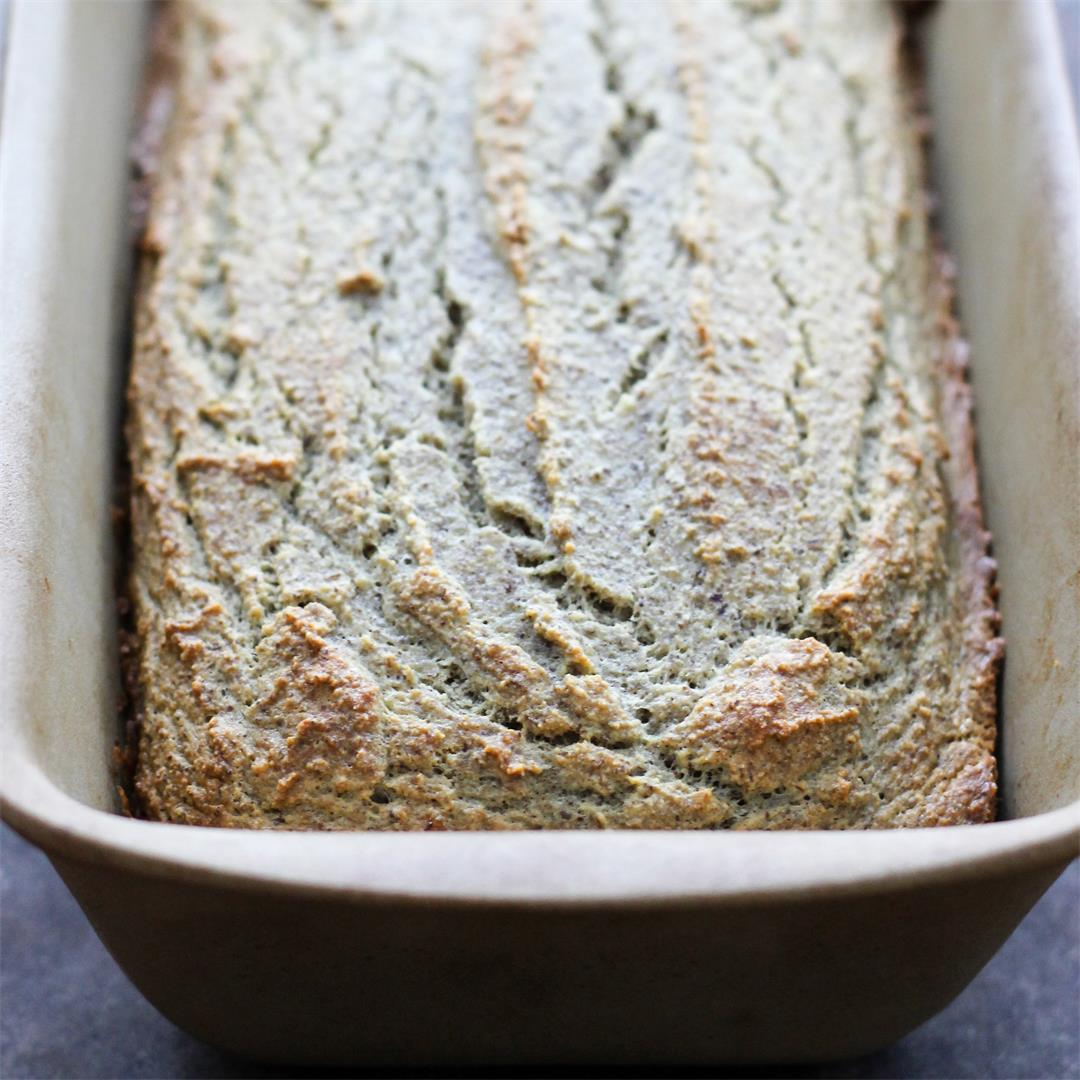 Coconut Flour Bread {Paleo, GF, No Sugar Added}