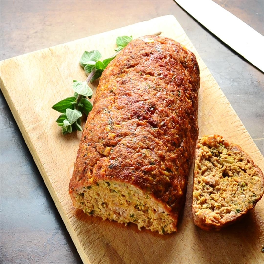 Turkey Meatloaf with Fresh Herbs