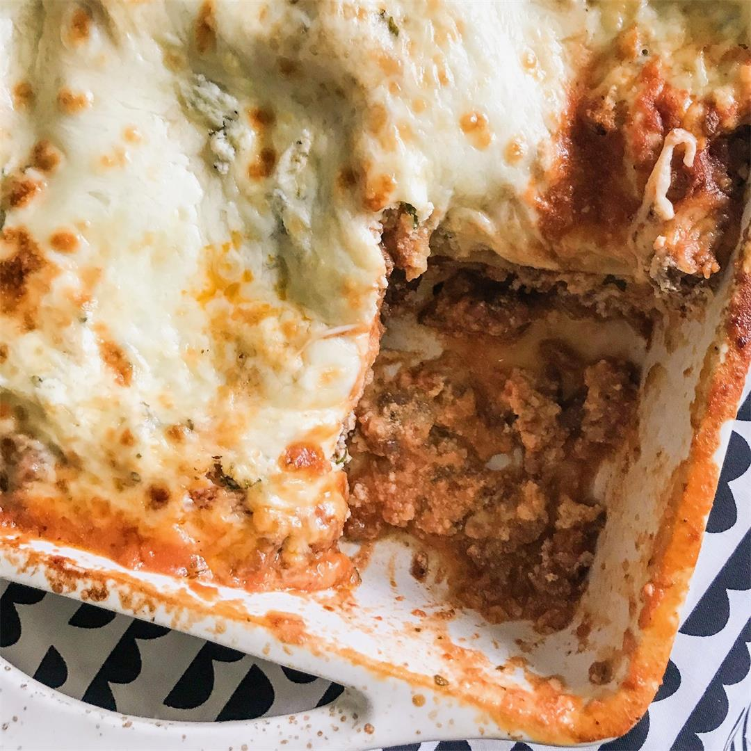 The Perfect Classic Italian Lasagna