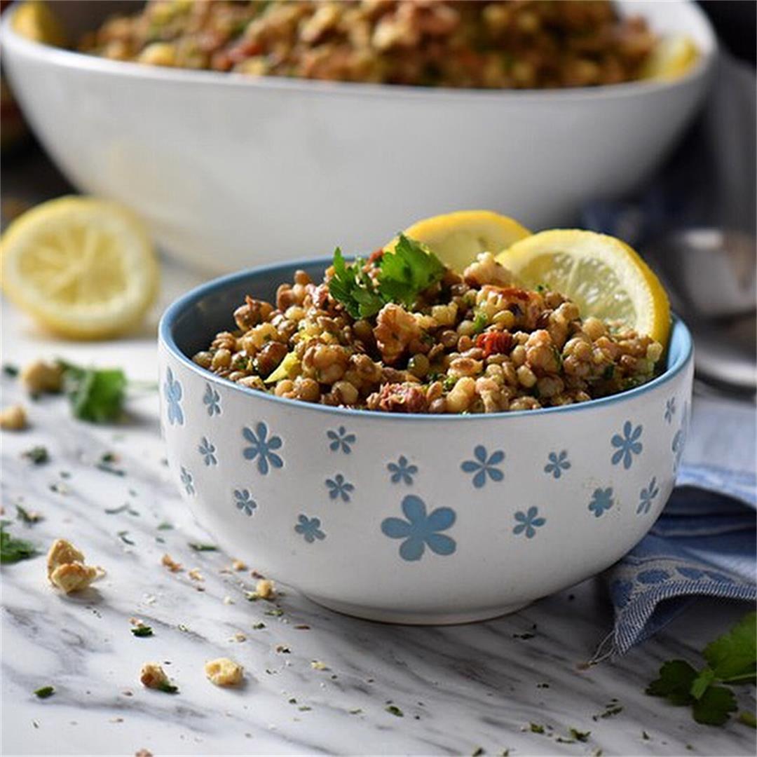Healthy Fregola Salad Recipe