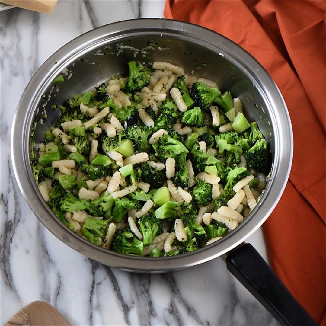 Sauteed Broccoli and Cavatelli Recipe