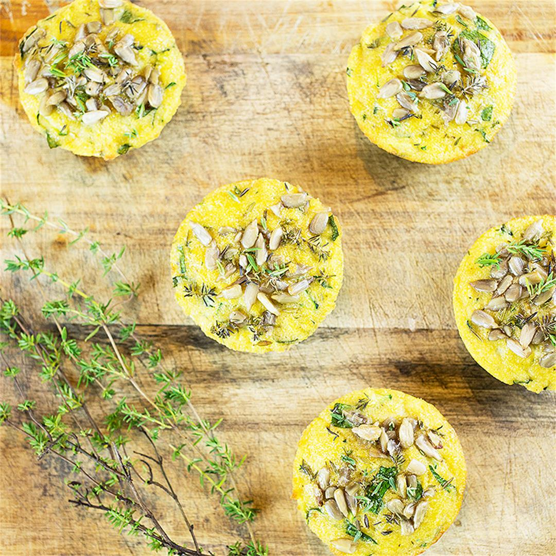 Gluten Free & Paleo Savory Muffins