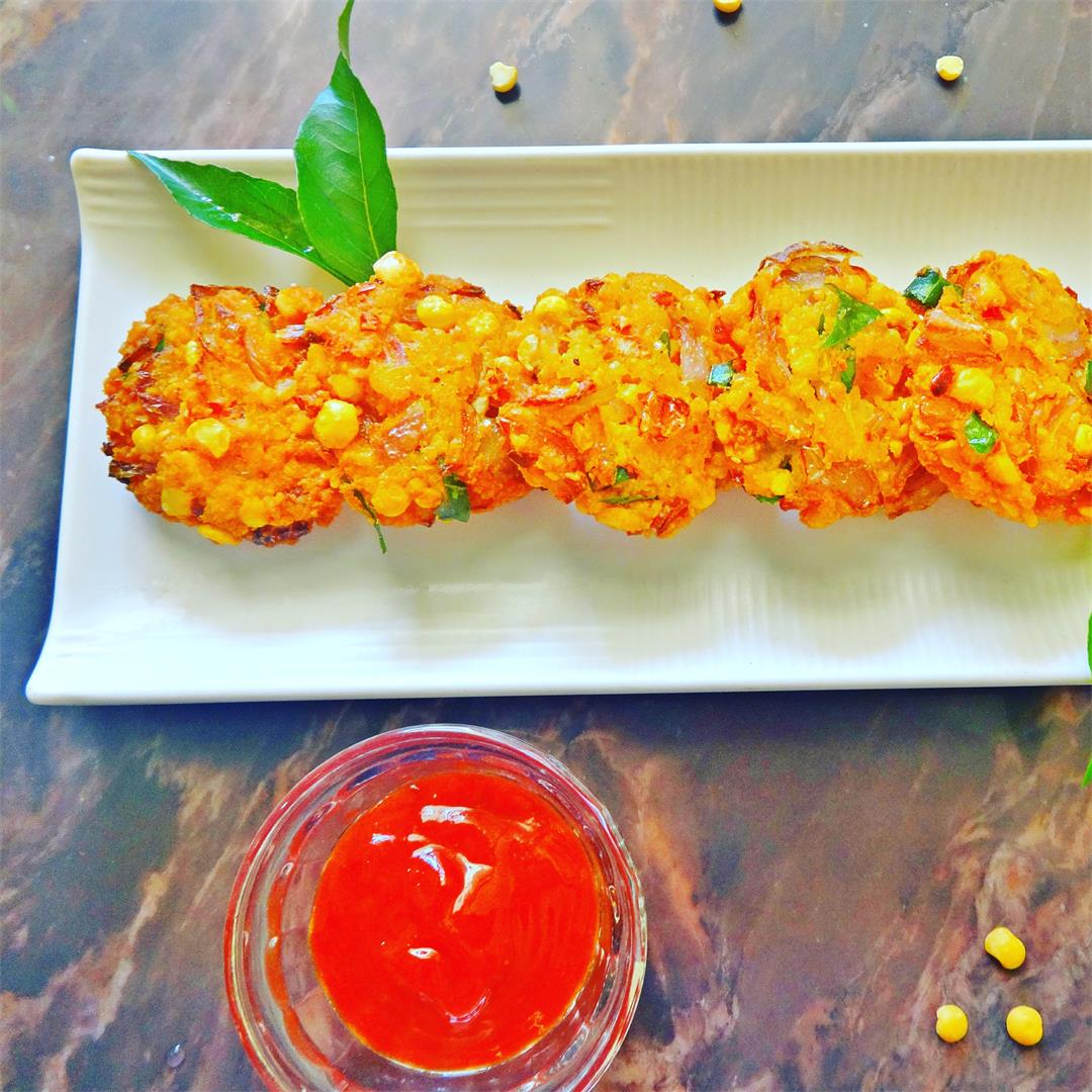 Paruppu   Masala Vadai is very famous snack in South India.