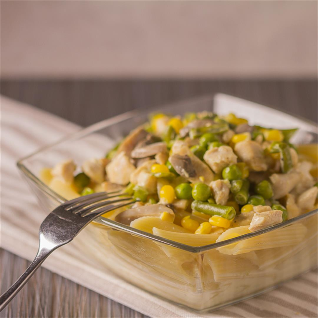 Creamy Chicken and Vegetable Pasta Sauce