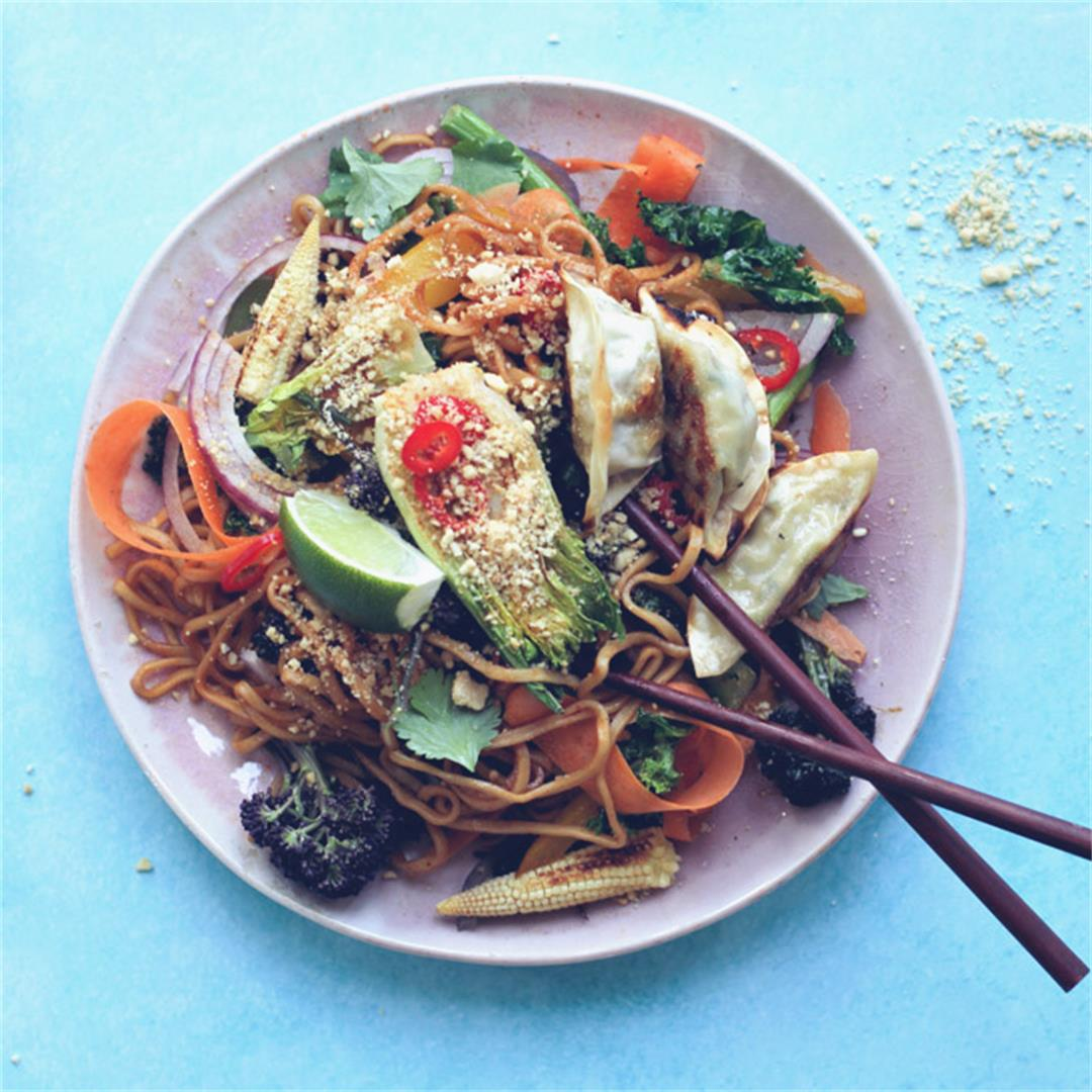 This Vegan Pad Thai is so quick and simple to prepare.