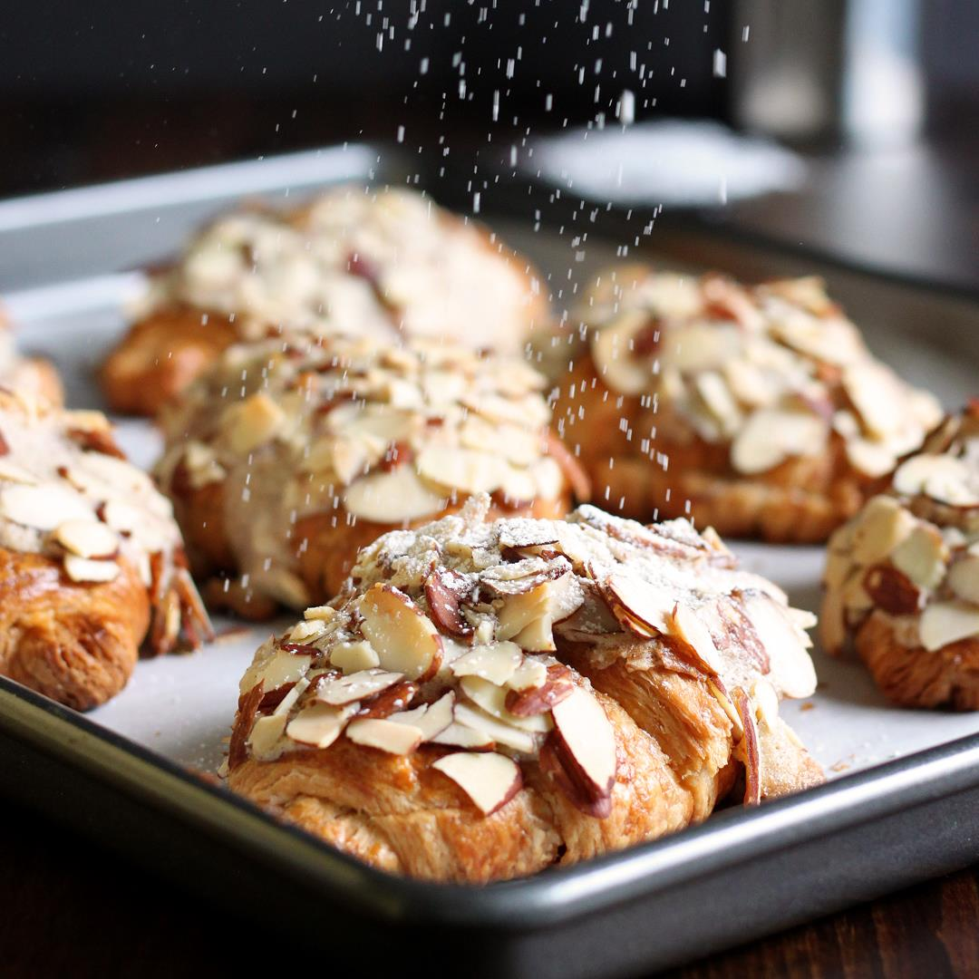How to make Almond Croissant