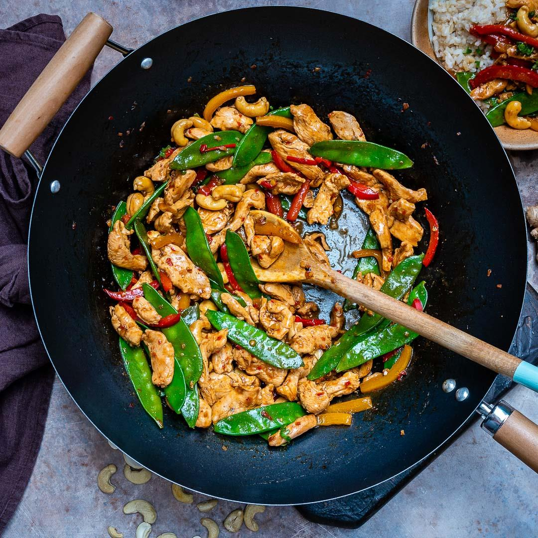 Easy Chicken Stir Fry Recipe (With Vegetables And Cashew)