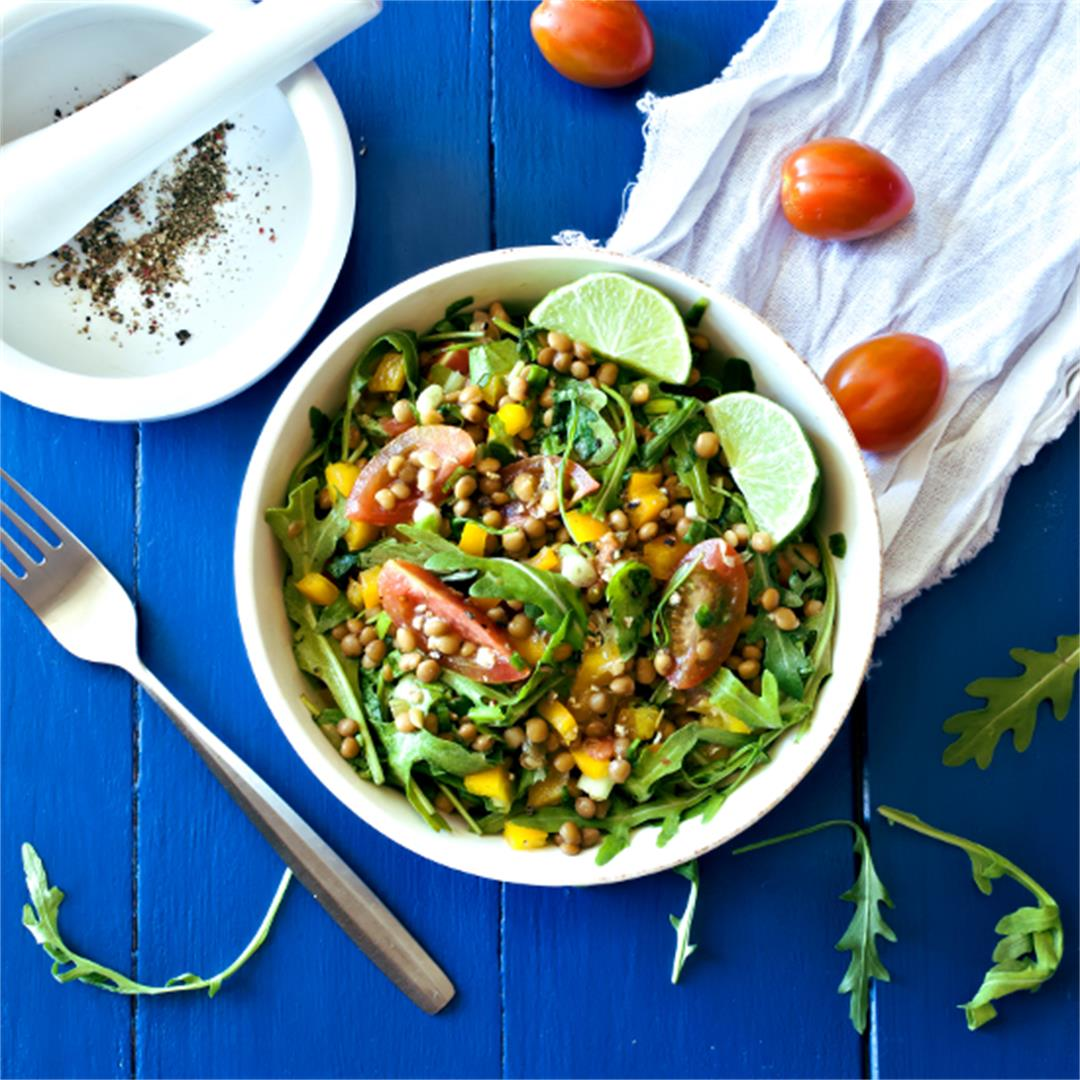 Lentil salad – Vegan salad recipes