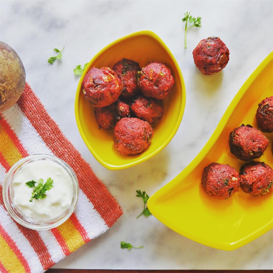 Beetroot Balls | Beet Balls Recipe