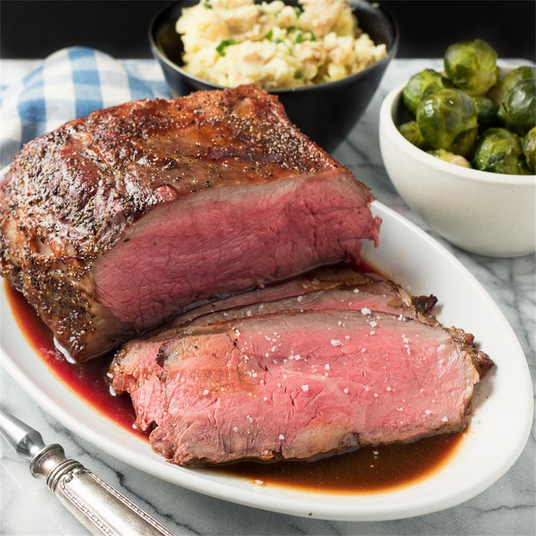 Roast Beef with Demi-glace Sauce