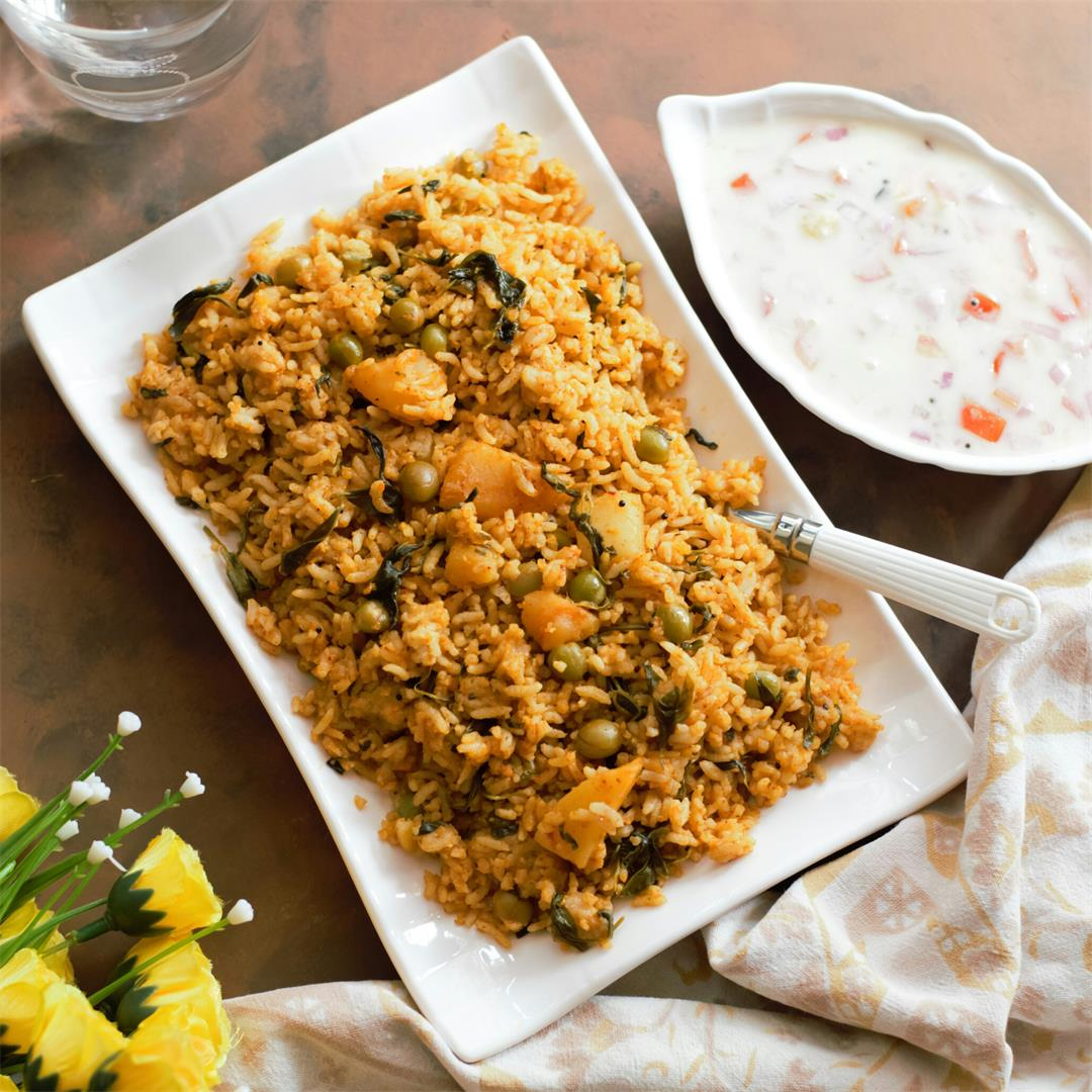 Aloo Methi Rice
